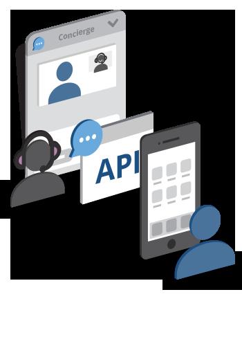 Live chat API