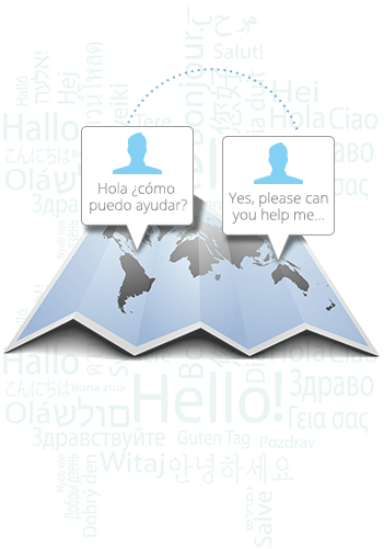 Real-time chat translation
